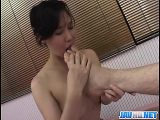 Asian MILF Gets Give Coupled With Dirty